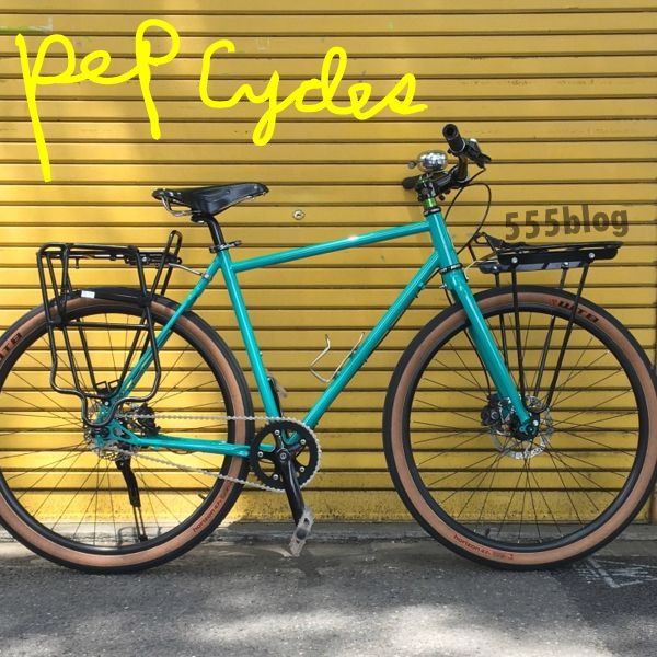ホロホロ日記 555nat.com 555blog FRIENDS PEP CYCLES 2018 NS-D1 試乗