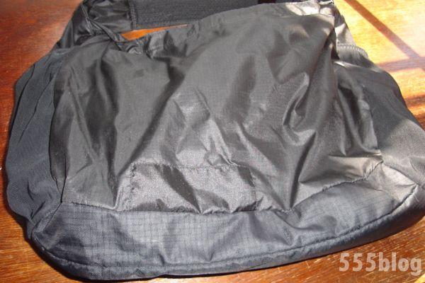 ホロホロ日記 555nat.com 555blog Patagonia パタゴニア repaire リペア ライトウェイト・クーリエバッグ 修理済