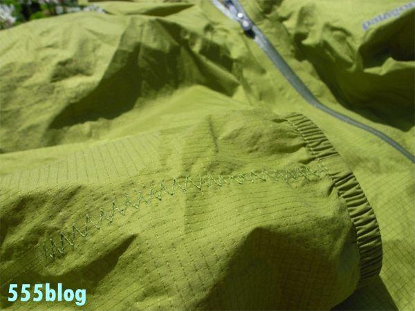 ホロホロ日記 555nat.com 555blog パタゴニア リペア 修理サービス H2NO プルジャケット(1)