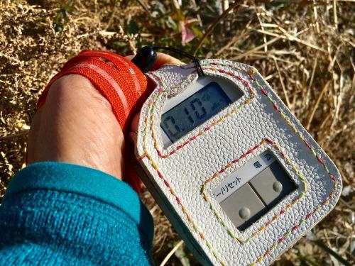 リネン布による多摩川の水の放射能汚染の調査 2019年1月17日 放射能測定(川の草むら) 555blog 555nat ホロホロ日記