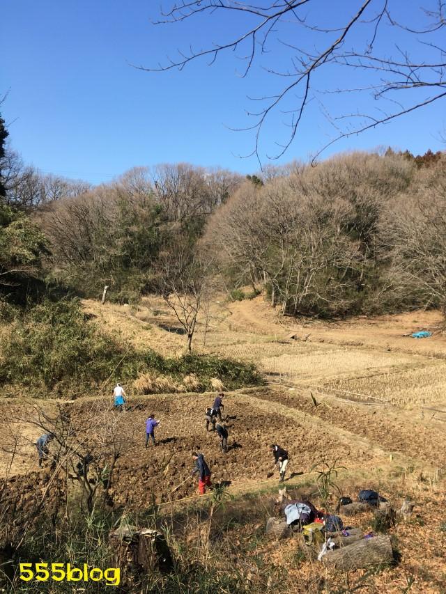 Now Tenki 農に学ぶ 谷戸田サポーター 米作り(1)田起こし 555blog 555nat ホロホロ日記