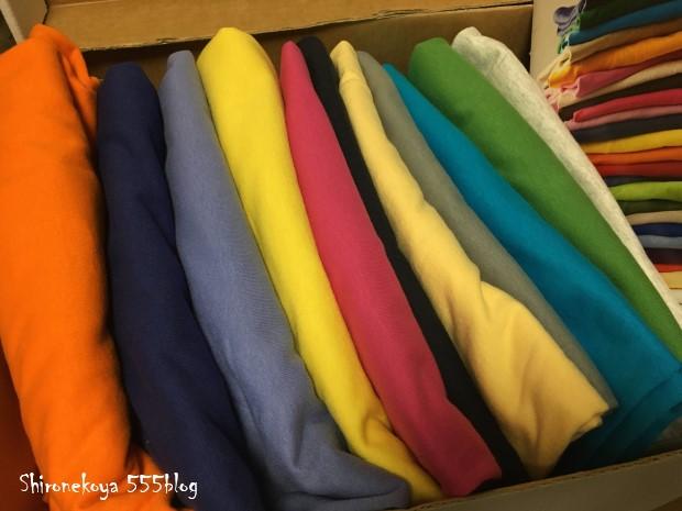 白猫屋 Tシャツ期間限定販売 大きいサイズのTシャツセット アンビルとパタゴニア オーガニックコットン 555blog 555nat ホロホロ日記