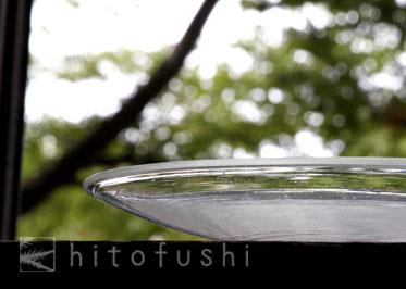 ガラスの皿