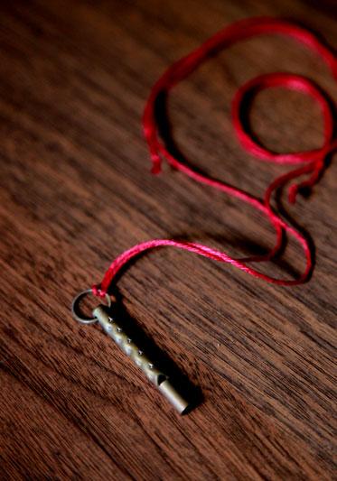 音を持ちあるくネックレス