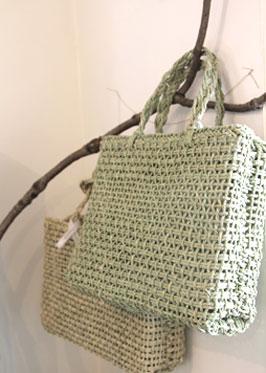 イ草のバッグ