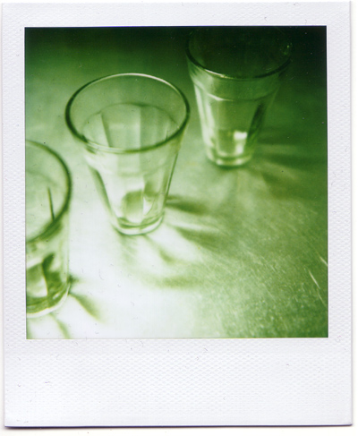 逆光グラス。