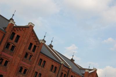 赤レンガ倉庫。