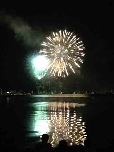 2012諏訪湖花火