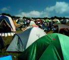 テントはいっぱい