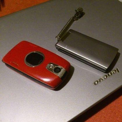 新旧携帯機種