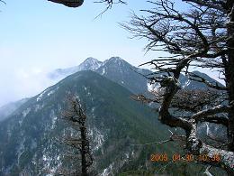 登れなかった 笊ヶ岳(2,629m)