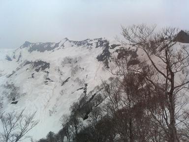 笈ヶ岳180430