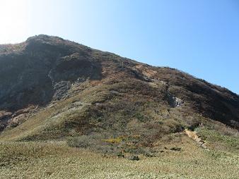 冠山最後の登り181021