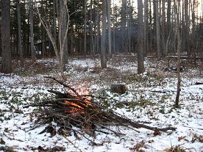 焚き火181223