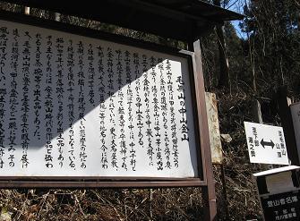 毛無山登山口190211