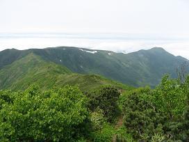 狩場山山頂190624