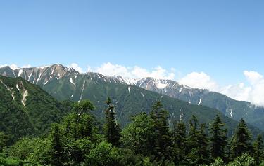 赤牛岳(2,864.2m)190727