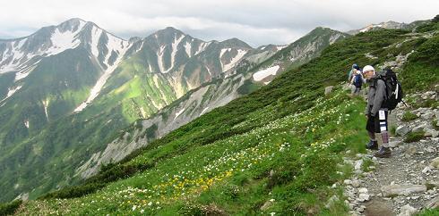 鷲羽岳190728