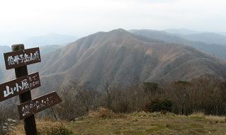 伯母子岳から護摩壇山191118