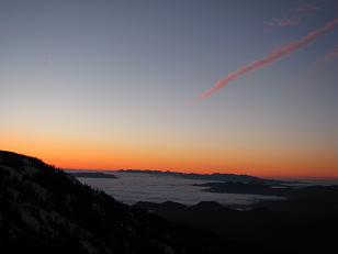 会津駒ケ岳の夜明け200615