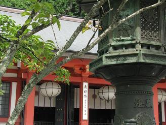 鞍馬寺本堂200906