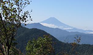 大菩薩嶺と富士山200923