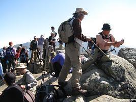 瑞牆山山頂201019