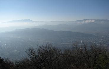 太郎山から千曲川201129
