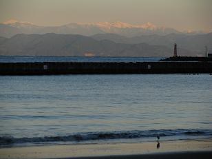 土肥からの赤石山脈201207