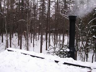 除雪後210111