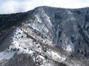 飯縄山210111