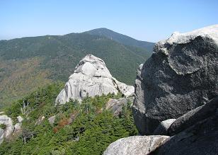 大日岩から小川山201018