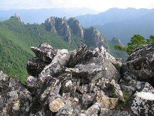 小川山から岩峰群210906