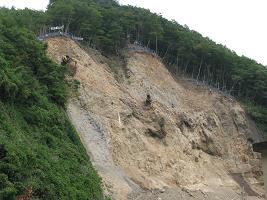 地震の爪あと210919