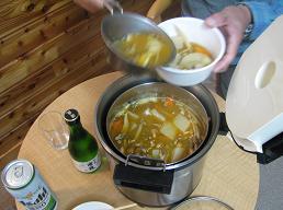 焼石館芋煮210919