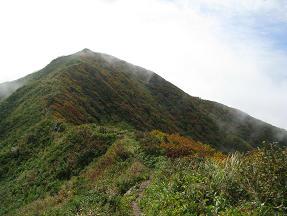 神室山山頂210921
