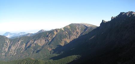 八ヶ岳主稜線211019