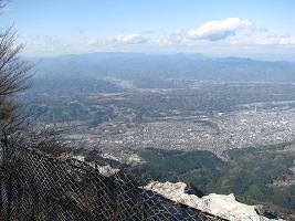 武甲山山頂211121