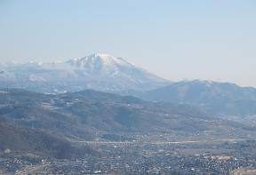 善光寺平と飯縄山220327