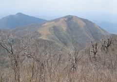上蒜山から中・下蒜山220430