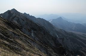 大山から蒜山220502