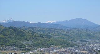 姨捨から飯縄山220515