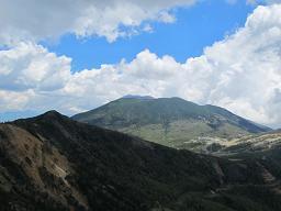 籠ノ登山から浅間山220615