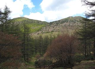 籠ノ登山から四阿山220605