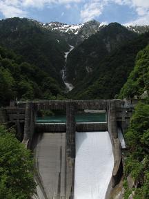 仙人谷ダム220609