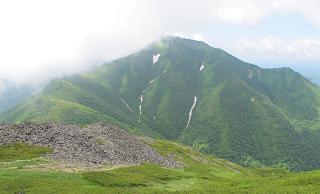 石狩岳220716