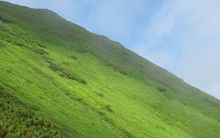 石狩岳斜面220716