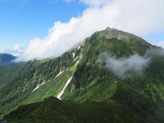 ニペソツ山220717