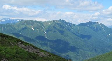 石狩岳遠望220717