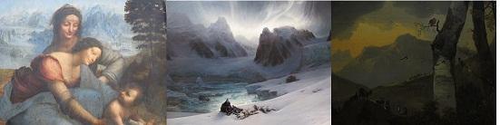 ルーブルの山の絵220920